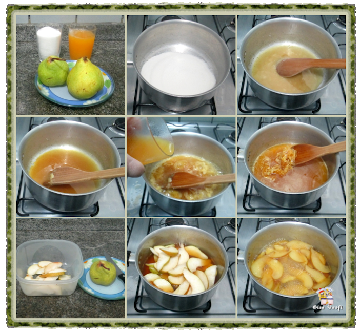 Manjar de peras 3