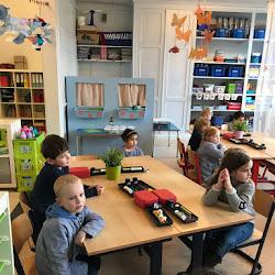 Op bezoek in het eerste leerjaar