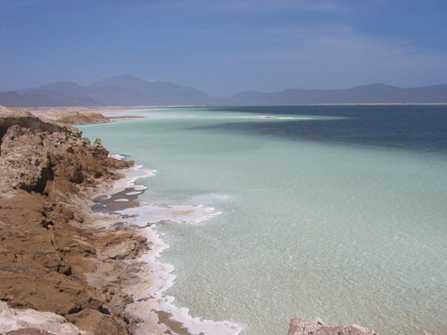 Lake Assal Area, Djibouti