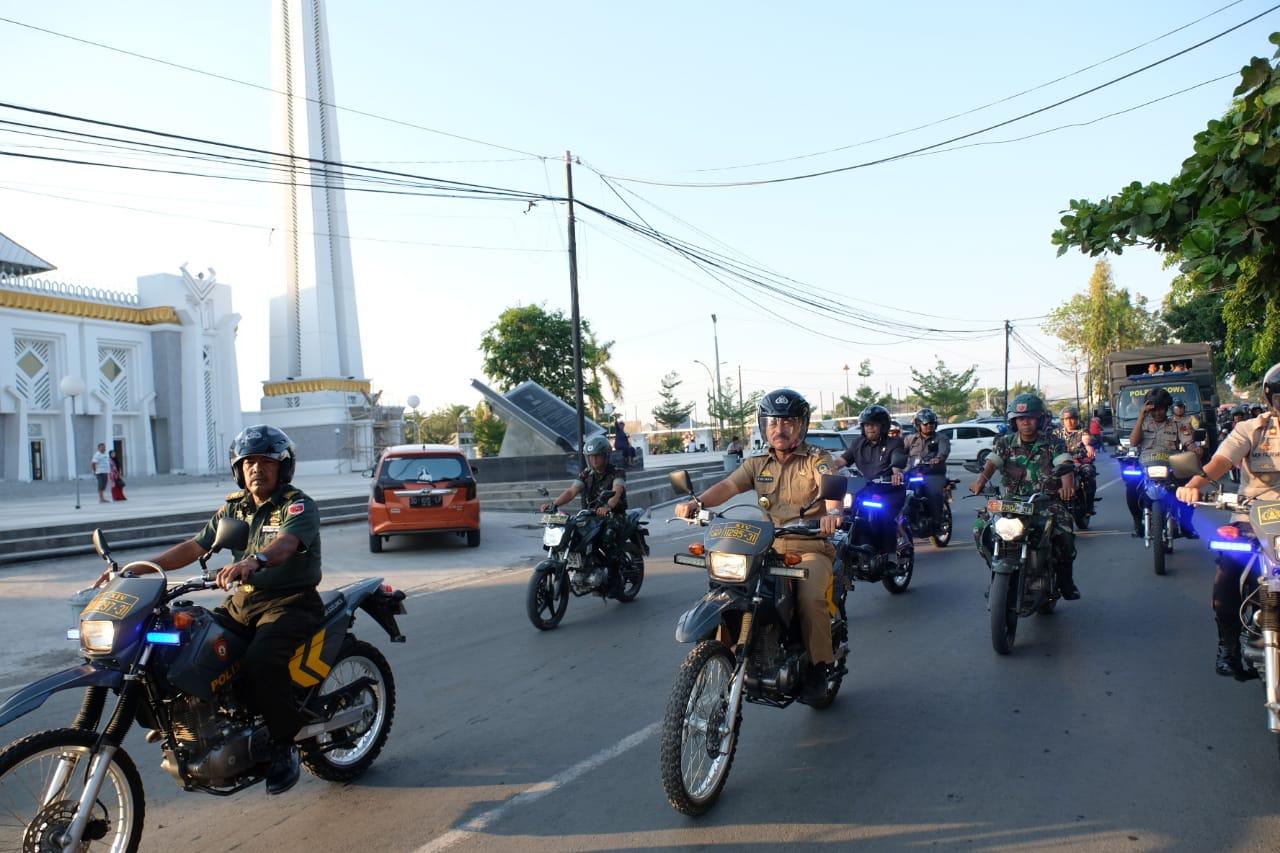 Wakil Bupati Gowa Bersama WaKapolres Ikut Patroli Gabungan