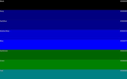 Color Code Screenshot Thumbnail