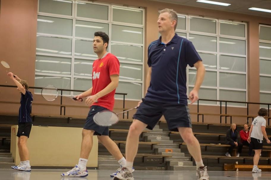 Amir und Georg im zweiten Doppel