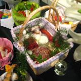 4.23.2011 Święcenie pokarmów w Wielką Sobotę w kościele MOQ, w Norcross. Typowe koszyki wielkanocne - IMG_7853.JPG