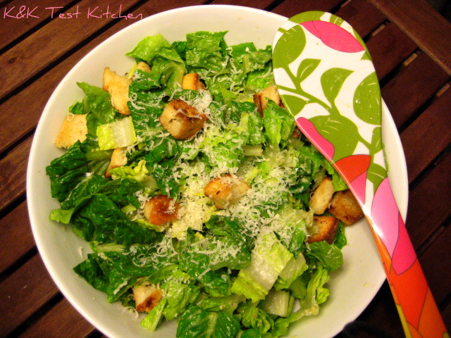 caesar salad dressing recipe