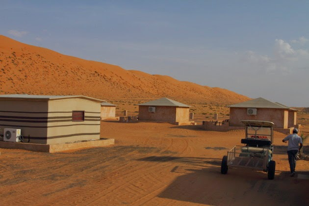 Arabian Oryx Desert Camp at Wahiba Sands, Oman