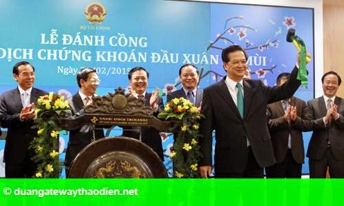 Hình 1: Thủ tướng: 'Chứng khoán cần năng động, minh bạch hơn'