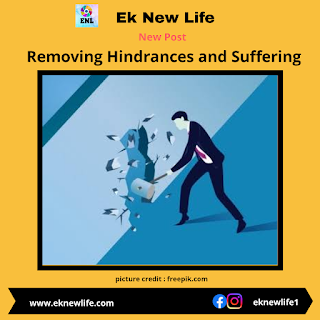 Removing Hindrances and Suffering