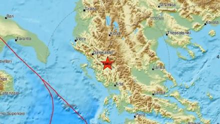 Σεισμός 4,3 βαθμών της κλίμακας Ρίχτερ σημειώθηκε στα Ιωάννινα