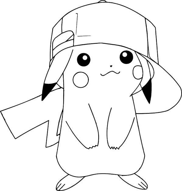 Pokemon Pikachu Coloring Pages Images Pokemon Images With Pikachu Coloring  Pages