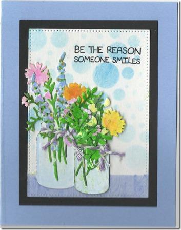 JARS FLOWERS 1