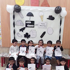 Black and White Day Celebrated by Playgroup - Morning Section at Witty World, Chikoowadi (2017-18)