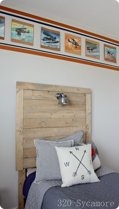 how to make a wood headboard