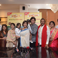 Mohan Babu Family Launched Junior Kuppanna Restaurant At Madhapur