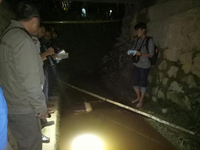 Ditemukan Dibawah Jembatan, Ansi Sudah Jadi Mayat