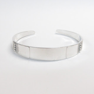 Sterling Silver Reed and Barton Cuff Bracelet