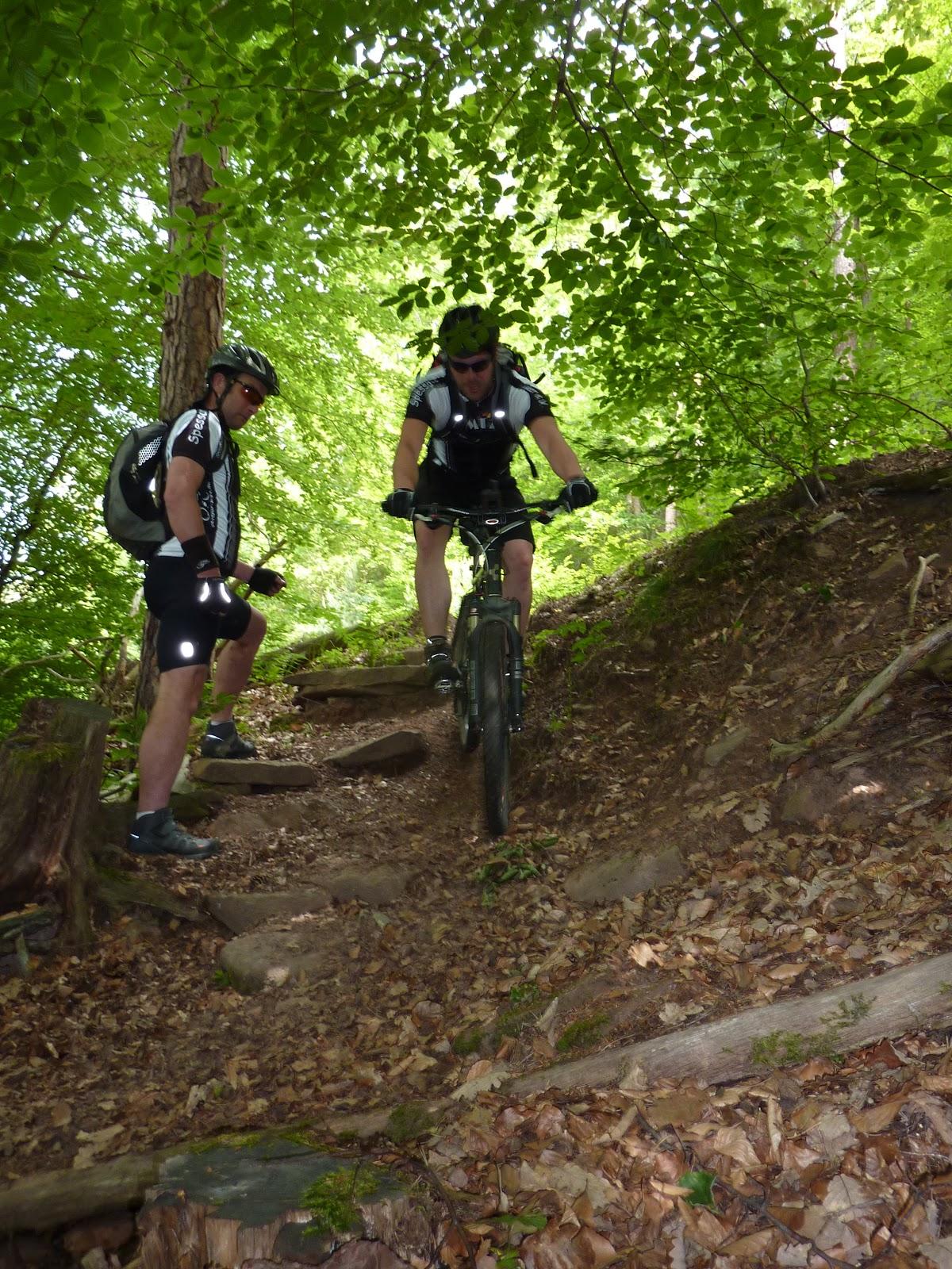 Vereinsinterne Spessart-Biker Tour