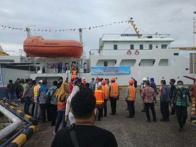 Dilaunching, KM Sabuk Nusantara 111 Resmi Beroperasi