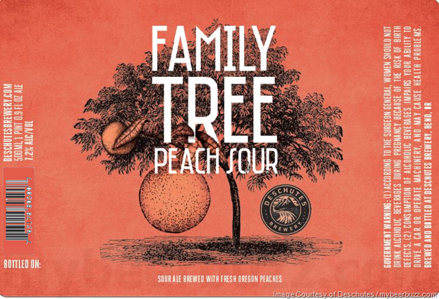 Deschutes Adding Family Tree Peach Sour