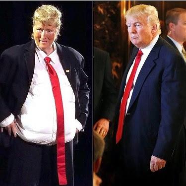 Meryl Streep impression of donald trump