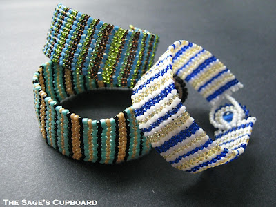 Herringbone Stripe Cuffs