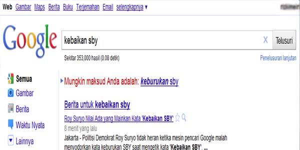 Kebaikan SBY - Keburukan SBY