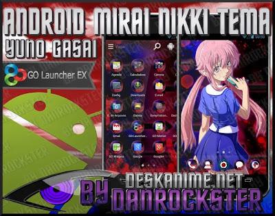 Download go launcher ex anime themes mirai