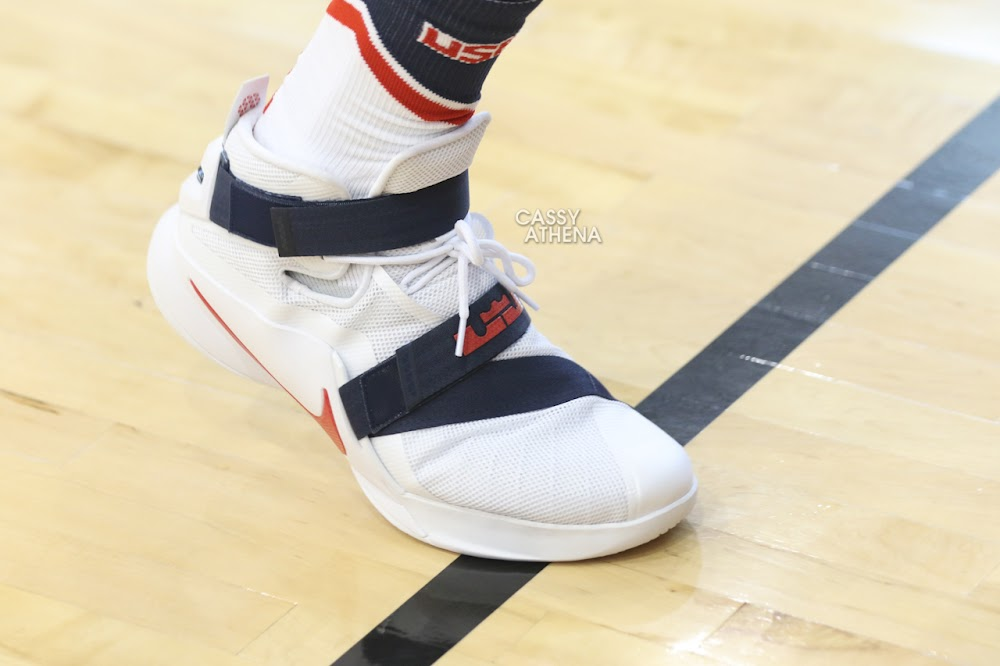 ccdbdba27242 ... Closer Look at LeBrons Nike Soldier 9 USA Basketball PE ...
