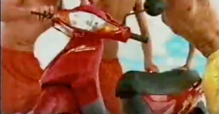 Campanha da Honda para lançamento da Biz no final dos anos 90