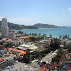 Uitzicht over Patong Beach