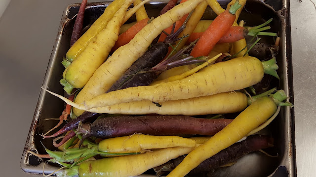 Beautiful carrots. Foodie Finds: Mercer Hall, Stratford, Ontario