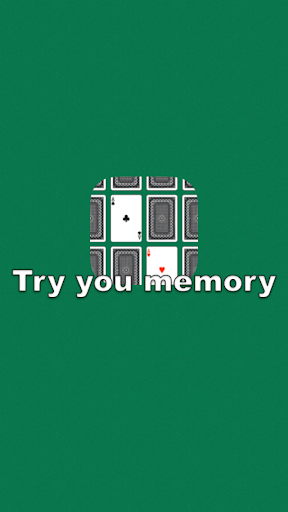 Try your memory