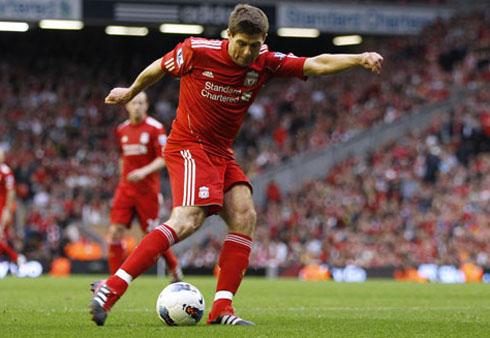 Steven Gerrard, Manchester City - Liverpool