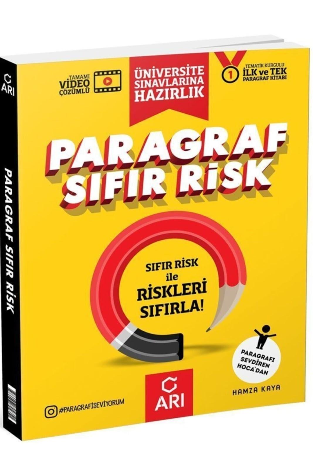 Arı Yayınları - TYT Türkçe - Paragraf Sıfır Risk