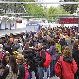 Sigue a los corredores del Maratón de Madrid en Metro