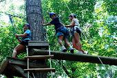 Anna, Alex & Rach being so brave
