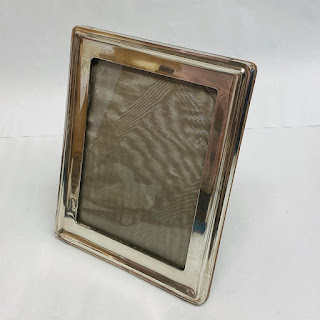 Sterling Silver A. & J. Zimmerman Picture Frame