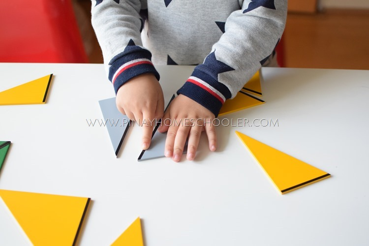 Montessori Constructive Triangles for 3-6 Year Olds