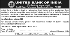 United Bank of India PO Recruitment 2016-17