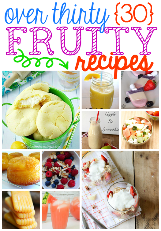 Over 30 Fruity Recipes at GingerSnapCrafts.com #linkparty #features #fruit #recipes_thumb[3]