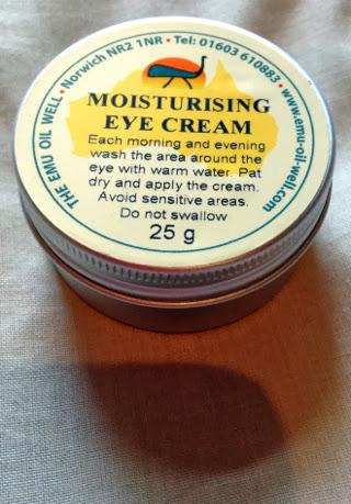 he Emu Oil Well Moisturising Eye Cream Tin