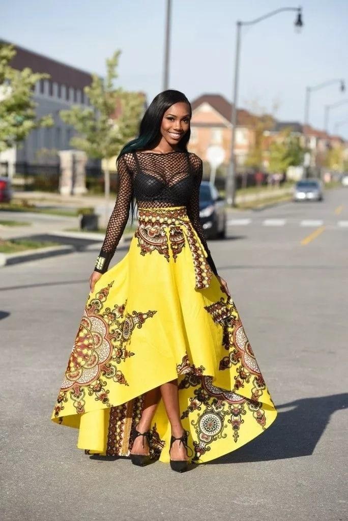 THE LATEST KITENGE DRESSES_AFRICAN KENYA DESIGNS 2019 3