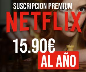Netflix [Oferta -92%] 1 Año