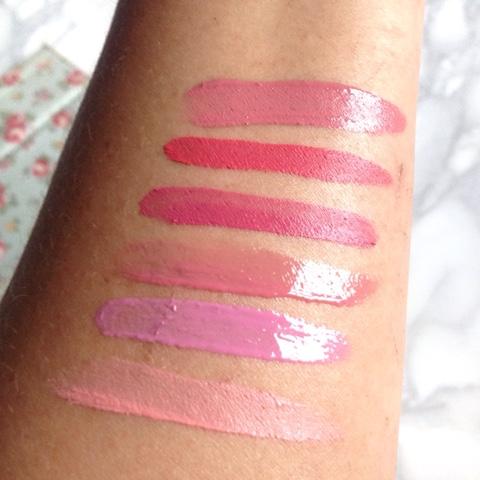 nyx pink lip shades