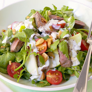 Beef Salad with Blue Cheese Dressing