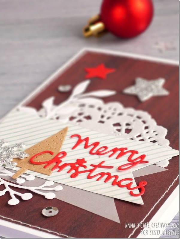 Biglietto di Natale Merry Christmas