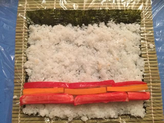 Sushi Roll Casero [FotoReceta]