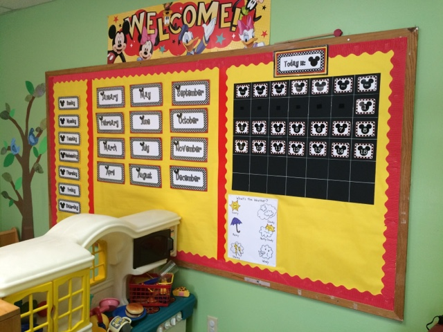 Another Online Mom Mickey Mouse Preschool Room