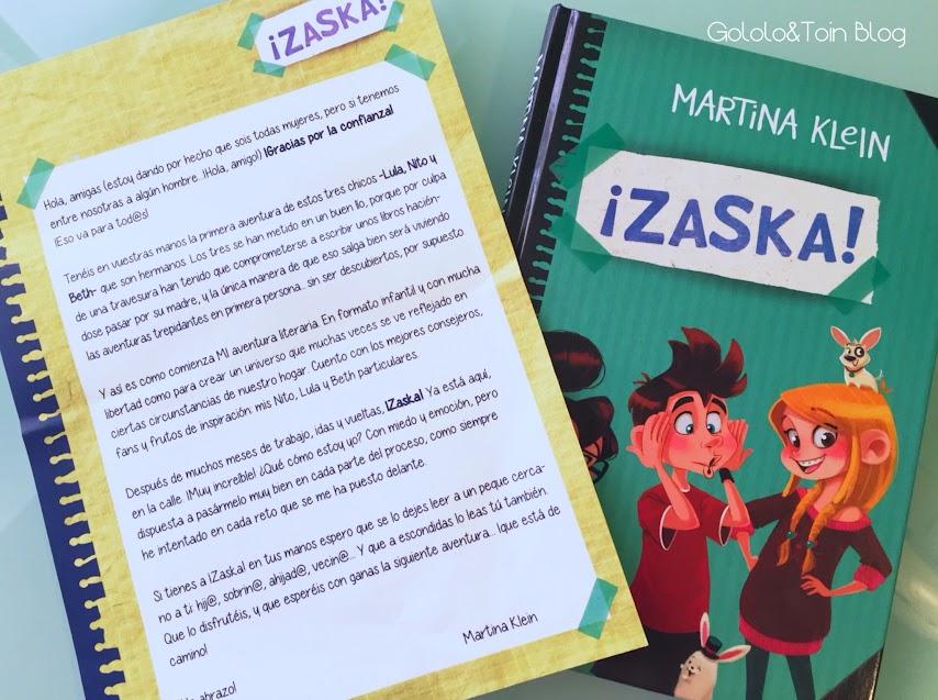 zaska-martina-klein-montena-literatura-juvenil-niños