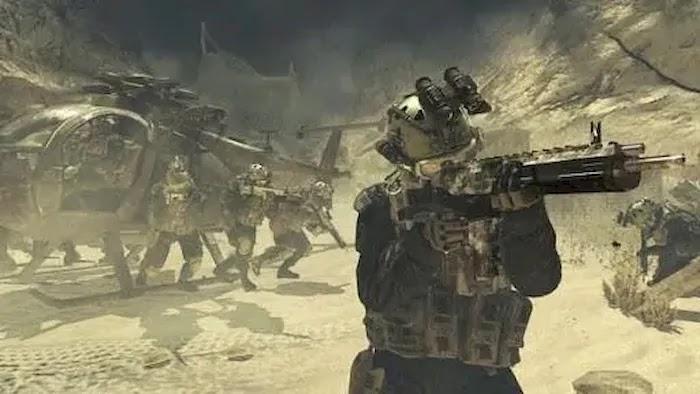 Game Sequence Call of Duty Modern Warfare 2