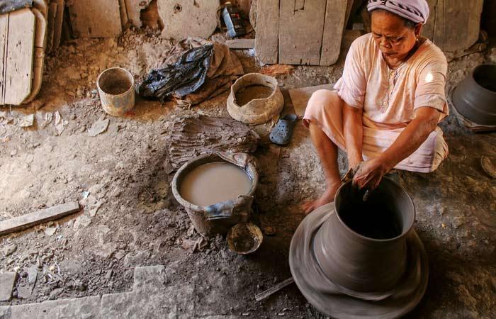 pembuatan keramik takalar